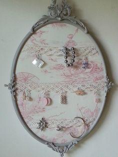 présentoir cadre à bijoux à photos