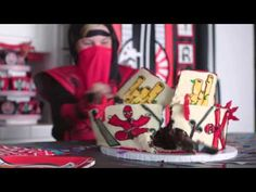 Ninja Party Set of 12 Snack Treat Cups