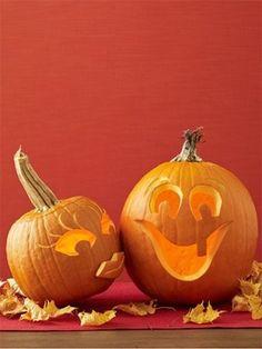 Halloween Craft: Sweethearts Pumpkin Carving Idea by Janny Dangerous