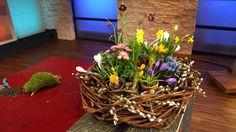 Frühlings- Terrassen-Tischdeko