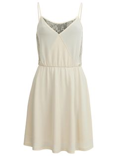 FEMININE SHORT DRESS #vilaclothes #pastel