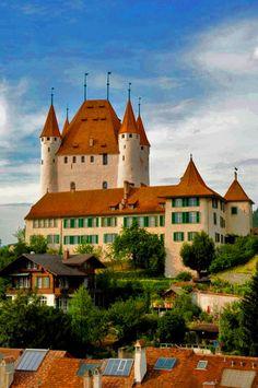 Thun Castle in Germany