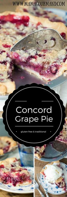 An easy to follow, family recipe for Concord Grape Pie. This Concord Grape Pie is so amazing, I guarantee you have never had anything quite like it before! http://www.mamagourmand.com