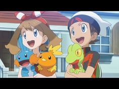 Even though it's in Japanese, this is an AWESOME trailer. I'm so pumped to get pokemon omega ruby!!!!!