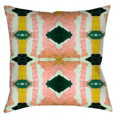 125-3 Peach Pillow Cover