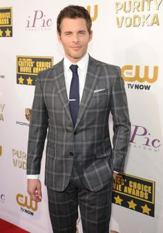 James Marsden attends the19th Annual Critics' Choice Movie Awards at Barker Hangar on January 16, 2014 in Santa Monica, California.