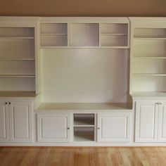 Entertainment center ideas diy for small es home decor decoration decorating wall unit furniture cozy rustic White Entertainment Unit, Bookshelf Entertainment Center, Custom Entertainment Center, Entertainment Furniture, Entertainment System, Karton Design, Muebles Living, Hemnes, Built Ins