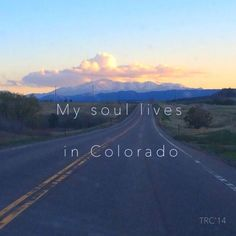 That's the truth! There is not one thing to not love about Colorado, it's the perfect state...