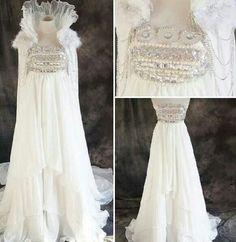 Sailor moon wedding dress!!