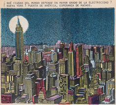 A frame from the Mexican comic book Un Mundo Nos Vigila No. 8, from August 22, 1977.