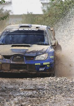 Subaru Impreza WRC - Petter Solberg and Phil Mills #petrolified #therallyblog