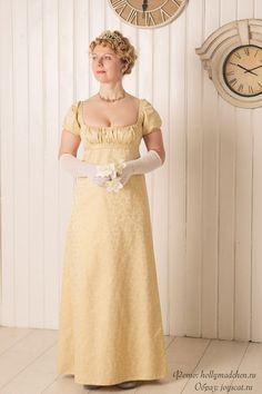 Posh Clothing, 1800s Clothing, Empire Clothing, Regency Dress, Regency Era, Dress Design Sketches, Princess Dress Up, Chef D Oeuvre, Victorian Fashion
