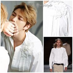 #kimjaejoong in Ports 1961 pleated plastron shirt for @lofficielhommes_kr May '17.  Credit: L'Officiel Hommes Korea; @ports1961menswear; CJes and Farfetch. #jaejoong #김재중 #ジェジュン #korean #celebrity #singer #singersongwriter #theoneandonly #mensfashion #gorgeous #handsome #talent 😉