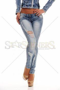 Mexton Glacial Charm Blue Jeans