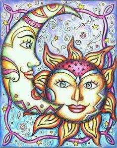 ૐ  Hata Yoga ૐ   ❤~ Sol y Luna ~❤