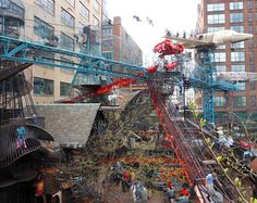 Cassilly Crew - public sculpture