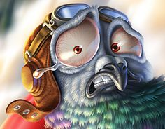 """Check out new work on my @Behance portfolio: """"Carrier Pigeon"""" http://be.net/gallery/41611431/Carrier-Pigeon"""