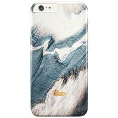 Winter / iPhone Marble Case (46 CAD) ❤ liked on Polyvore featuring accessories and tech accessories