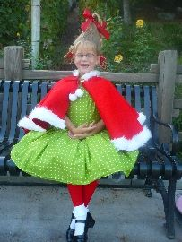 How to cindy lou who costume pinterest grinch costumes and homemade halloween costume ideas grinch costumesseussical costumesdiy solutioingenieria Image collections