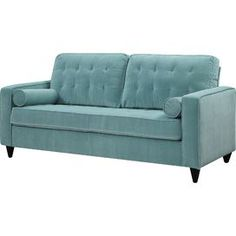 Chicago Sofa in Turquoise