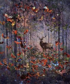 "Eric Roux-Fontaine, ""Gymnopédies,"" Mixed media on canvas, 39.5"" x 47.25"" / 120cm x 100cm"
