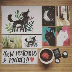 Cositas nuevas en mi tienda Etsy! Desde ya mismo podéis encontrar nuevos packs de postales y el print del señor Lobo y su cachorro. Si os interesa ya sabéis clic en el enlace de mi perfil  /// New stuff in my Etsy shop! Now you can purchase new postcards packs and the Mr Wolf & his cub print! Direct link in my profile  #art #illustration #drawing #draw #picture #artist #sketch #sketchbook #paper #pen #pencil #artsy #instaart #beautiful #instagood #gallery #creative  #instaartist #graphic…