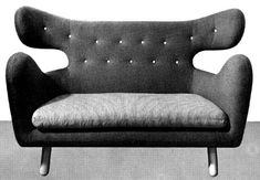 Sofa by Finn Juhl for Niels Vodder, 1939.