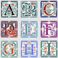 ✍ Typography ✍  Illuminated Letter