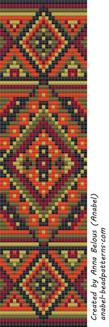 Driving a wide bracelet - Machine Weaving / Tapestry Weaving