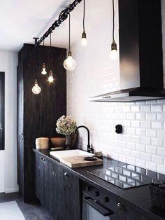 Industrial kitchen lampen