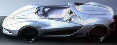 Pininfarina Sergio Concept - Polygonal Mesh 3D Model