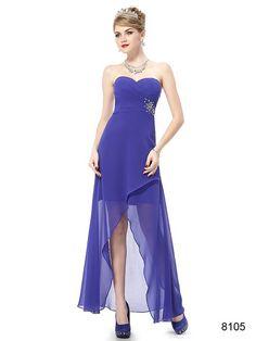 ファションデザイン☆ ブルー系ロングドレス♪ - ロングドレス・パーティードレスはGN|演奏会や結婚式に大活躍!