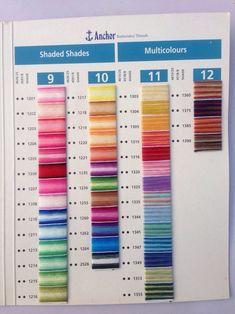 30 Anchor thread ideas | anchor threads, embroidery floss ...