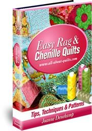 To Easy Rag & Chenille Quilts eBook Quilt Square Patterns, Beginner Quilt Patterns, Quilting For Beginners, Quilt Patterns Free, Quilting Tutorials, Pattern Blocks, Square Quilt, Quilting Projects, Quilting Designs