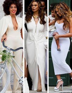 """"""" The Knowles women at Solange's wedding. """""""