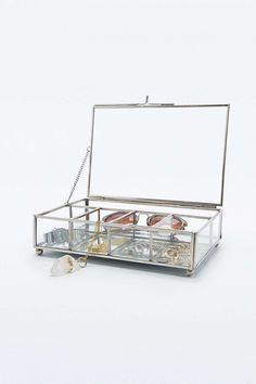 Boîte à bijoux en verre - Urban Outfitter