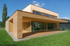 k_m architektur, Koblach project (Austria) - k_m architektur, проект Koblach (Austria) Future House, My House, Home Catalogue, 2 Story Houses, Building A House, House Plans, Sweet Home, House Design, Mansions