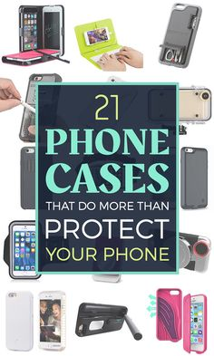 21 Phone Cases That Do More Than Protect Your Phone