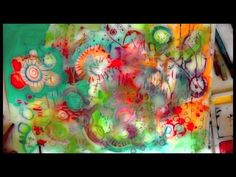 Butterfly mixed media video
