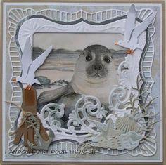 Trijntjes Kaarten: kaart met zeehond