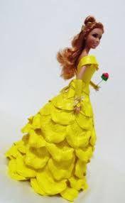 Resultado de imagen de boneca com vestido de eva