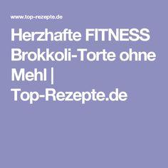 Herzhafte FITNESS Brokkoli-Torte ohne Mehl | Top-Rezepte.de