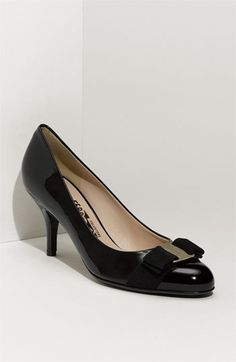 Cute and classic Salvatore Ferragamo 'Carla' Pump available at #Nordstrom