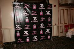 Let us help you create your own personalized Step & Repeat Banner with your logo! Great for photo ops at parties, grand openings, to promote your business and much more. #dreamscenesinc #stepandrepeat #vinylbanner #backdrop #background #photoop #logo