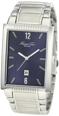 Kenneth Cole New York Men's KC9025 Classic Round Analog Date Watch Kenneth Cole. $80.75. Solid stainless steel bracelet. Dependable Japanese Analog-Quartz movement with date. Solid stainless steel rectangle case. Water-resistant to 99 feet (30 M). Limited lifetime warranty. Save 15% Off!