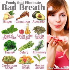Foods that Eliminate Bad Breath