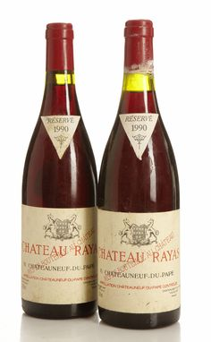 Chateau Rayas 1990 Chateauneuf Du Pape, Vintage Wine, Bottles, How To Make, Stripes, Alcohol