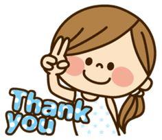 Phrases that cute girls often use. Cartoon Girl Images, Cute Cartoon Pictures, Cute Cartoon Girl, Cute Love Cartoons, Cartoon Pics, Teacher Stickers, Emoji Stickers, Cartoon Stickers, Cute Stickers