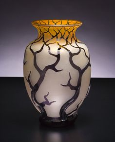 """Bellied Root Vessel"" created by Bernard Katz"
