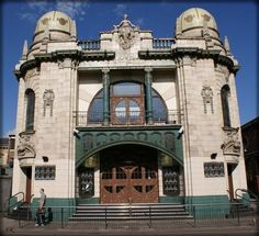 Tower Cinema. Anlaby Road, Hull. Grade 2 listed. Built 1914.